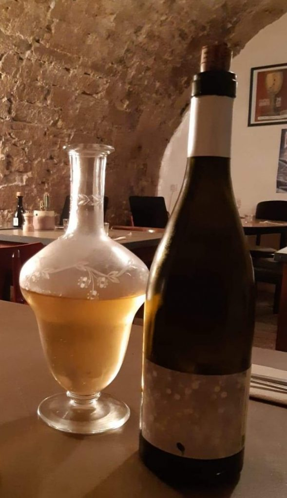 Vin orange du Domaine Mamaruta